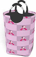 EINST Pink Breast Cancer Ribbon Square Laundry