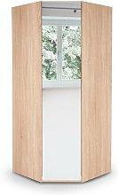 Eitan Bedroom Corner Mirror Wardrobe - Variety Of