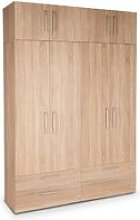 Eitan Quality Bedroom Double Combi Tall Oak