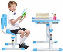 Ejoyous Adjustable Height Children Desk and Chair