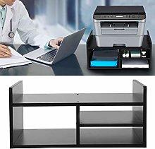 Ejoyous Desktop Printer Stand, 2-tier Wood Desk