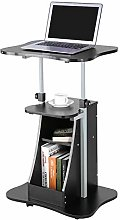 Ejoyous Mobile Laptop Table Rolling Computer Cart,