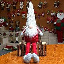 EKKONG Handmade Plush Santa Gnome Faceless Santa