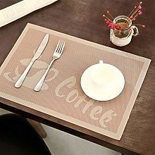 EKRPN Placemat Dining Table Placemats Sets of 10