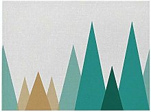EKRPN Placemat Geometric Patterns Simple Style