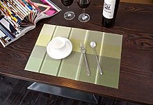 EKRPN Placemat Placemats Set of 6 Pack Table Mats