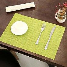 EKRPN Placemat Table Mats Set of 6 Placemats PVC