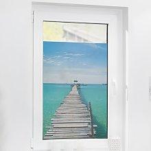 El Mar Window Sticker East Urban Home