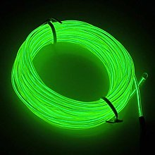 EL Wire, 3 Light Modes Neon Light Portable Battery