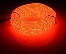 EL Wire, 3M Flexible Neon 3 Light Modes Portable