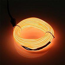 EL Wire 5m/16.4ft Battery Pack, JIGUOOR Bright