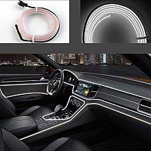 El Wires Car kit 3m/9ft Cold Interior Trim Bright