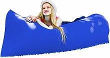 Elagon UK Blue Inflatable Air Sofa Lounger.