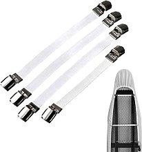Elastic Ironing Cover Ties, Bed Corner Bracket,
