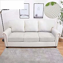 Elastic Stretch Sofa Cushion Covers,Easy Fit Thick