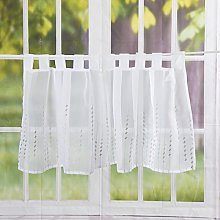 Elbersdrucke Helio 07 Bistro Curtain Polyester