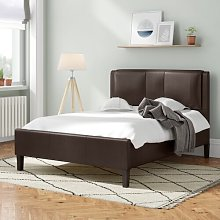 Elbert Upholstered Bed Frame ClassicLiving