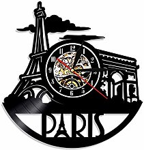 Eld 30cm Paris Wall Clock Tower City Of Love Great
