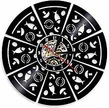 Eld 30cm Pizza Wall Clock Parlor Pizzeria Italian