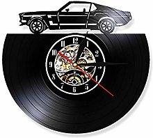 Eld Dia 30cm Automobile Vinyl Lp Record Wall Clock