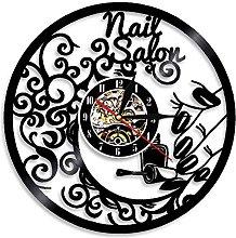 Eld Dia 30cm Nail Tools Wall Clock Beauty Salon