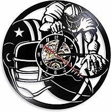 Eld Dia 30cm Sport Vintage Wall Clock Rugby