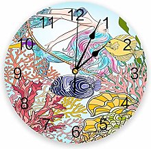 Eld Diameter 25cm Beautiful Mermaid Fairy Tale