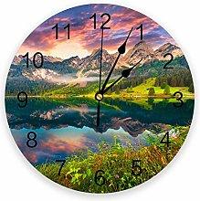 Eld Diameter 25cm Beautiful Natural Landscape Wall