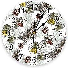 Eld Diameter 25cm Pine Cone Merry Christams Wall