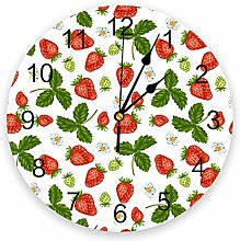 Eld Diameter 25cm Summer Fruit Strawberry Leaf