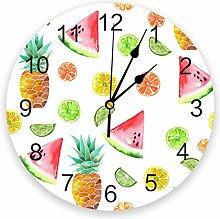 Eld Diameter 25cm Watercolor Pineapple Watermelon