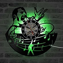 Eld Queen Rock Band Wall Clock Modern Design