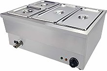 Electric Bain Marie Food Warmer Stainless Steel