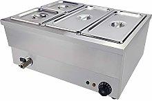 Electric Bain Marie Food Warmer Stainless Steel