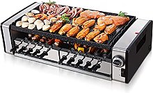 Electric Barbecue, Indoor 2-Layer BBQ Grill