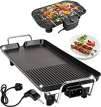 Electric BBQ Grill Smokeless, 1500W Table-top