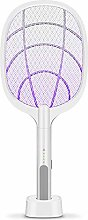 Electric Bug Fly Swatter Racket Rechargeable,
