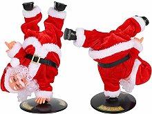 Electric Christmas Santa Claus Toy Dancing Singing