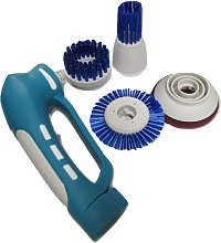 Electric Cleaning Brush with 4 Heads (Kitchen