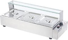Electric Commercial Bain Marie Food Warmer Steamer