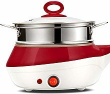 Electric Cooking Pot Mini Stainless Steel Steamer
