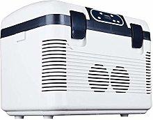 Electric Cool Box 19L Dual-Core Car Refrigerator