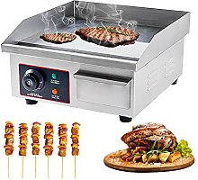 Electric Countertop Griddle Commercial Flat Top