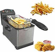 Electric Deep Fat Chip Fryer Non Stick Pan & Safe