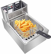 Electric Deep Fryer with Basket, Food Grade