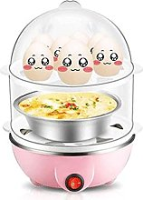 Electric Egg Boiler With Steamer Attachment, 14