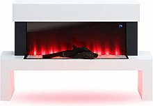 Electric Fire Fireplace Freestanding Wall Mounted