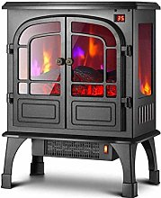 Electric fireplace - 1800W electric stove with