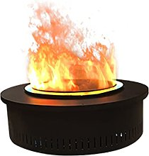 Electric Fireplace Cylindrical Electric Fireplace