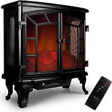 Electric Fireplace Fan Heater E - Fireplace LED